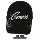 Ladies Black Camaro Hat
