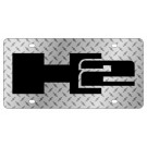 Hummer H2 License Plate - Lazer Style