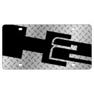 Hummer H2 License Plate Stamp Series - Lazer Style