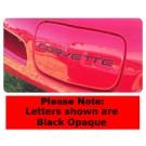 C5 Corvette EDI Front Bumper Letters with VHB