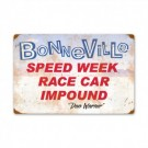 Bonneville Speed Week Race Car Impound Sign