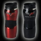 C6 Corvette Coffee Mug - Stainless with Gripper