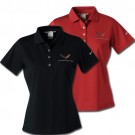 C7 Corvette Ladies Dri Fit Polo by Nike