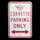 C5 Corvette Parking Sign