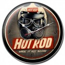 Hot Rod Helmet Clock by Hot Rod Magazine