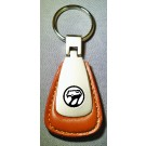 VIPER BLACK LOGO LOGO BROWN LEATHER FOB
