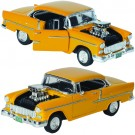 1955 Chevrolet Bel Air Coupe Diecast with Blown Engine