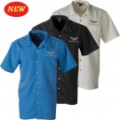 C6 Corvette Harriton Textured Camp Shirt