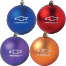 Chevrolet Shatter Resistant Ornament with Bowtie