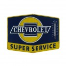 Chevy Super Service Thermometer Sign