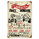 SNAKE VS MONGOOSE Sign from the  Don Prudhomme Collection