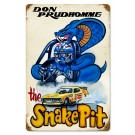 SNAKE PIT Sign from the DON PRUDHOMME COLLECTION