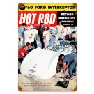 "Hot Rod Magazine Cover ""Mickey Thompson Bonneville"" (Dec. 1959) Sign"