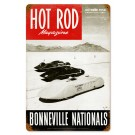 "Hot Rod Magazine Cover ""Bonneville Nationals"" (Oct. 1950) Sign"