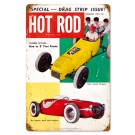 "Hot Rod Magazine Cover ""Bean Bandits"" (Feb. 1953) Sign"