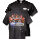 1964 Impala in Flames T Shirt