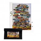 JUNKPILE PUZZLE WITH CARS FROM THE FIFTIES - 19″×26″