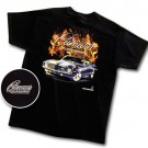 1969 Camaro in Flames T Shirt