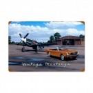 Mustangs Vintage Sign 16 X 24