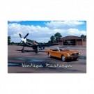 Mustangs Vintage Sign 36 X 24