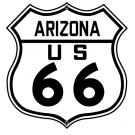 ROUTE 66 ARIZONA HIGHWAY SIGN