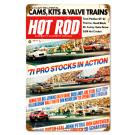 "Hot Rod Magazine Cover ""Pro Stocks"" (Jun. 1971) Sign"