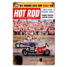 "Hot Rod Magazine Cover ""National Drags"" (Dec. 1960) Sign"