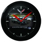 Corvette Clock Featuring C1-C7 Corvettes