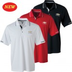 Chevrolet Collar & Sleeve Trim Polo with Gold Bowtie