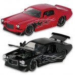 1:24TH 1971 Chevy Camaro w/ Flames Diecast