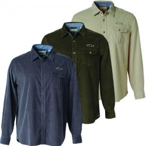 Men's Corduroy Shirt with Chevy Bowtie