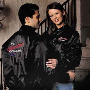 "Chevrolet ""The Heartbeat Of America"" Satin Jacket"